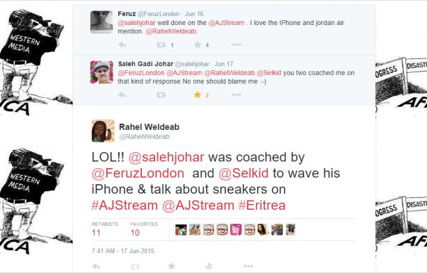 Saleh Johar admiting being coached by Selam Kidane and Feruz Kaissey